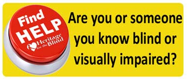 Are you or someone you know blind or visually impaired?